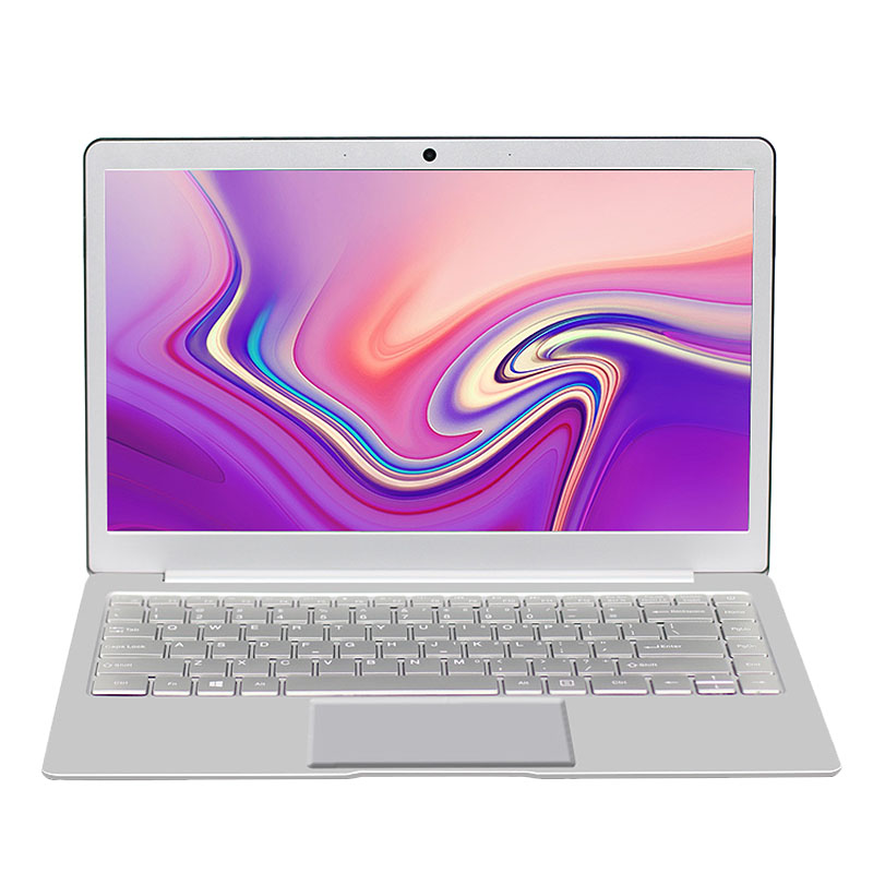 Laptop 14 Inch Windows 10 Celeron N4100 8GB RAM 256GB SSD 1920X1080 IPS Silver EU Plug
