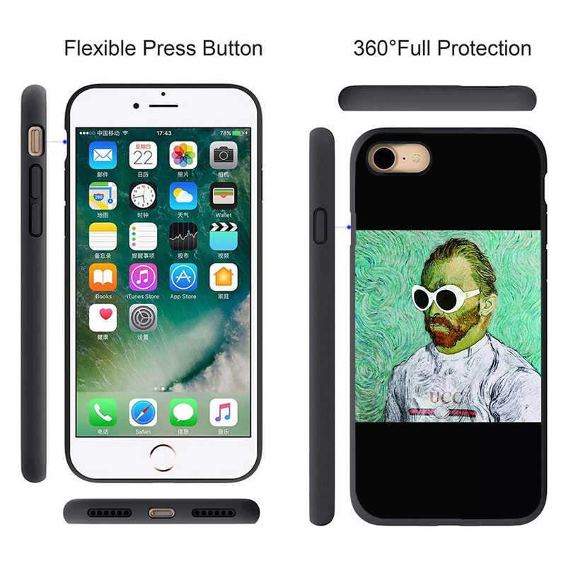 ゴッホキャパ Huawei 社 1080p スマート P8 P9 P10 2018 2019 メイト 20 honor 8A 20S 10 9 プロ Y7 Y9 Coque Huawi P20 Lite のケース