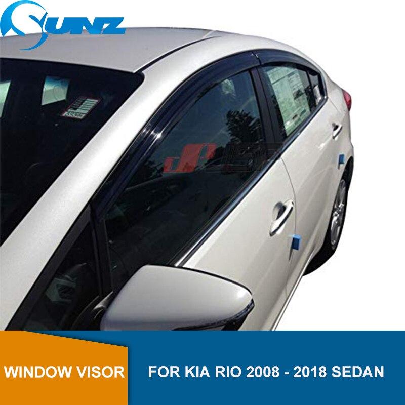 SUNSHADE 2018 KIA RIO RAIN GUARDS