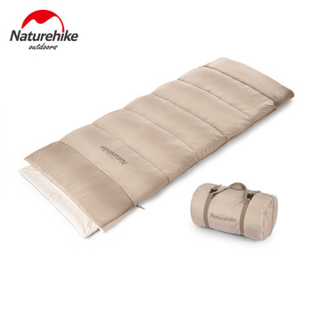 Naturehike Sleeping Bag Ultralight E200 Cotton Sleeping Bag Winter Waterproof Hiking Camping Sleeping Bag Camping Equipment naturehike new waterproof thicken goose down square sleeping bag outdoor hiking camping envelope style ultra light sleeping bag