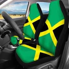 Автомобильные чехлы для сидений toaddmos зеленые 2 шт универсальные