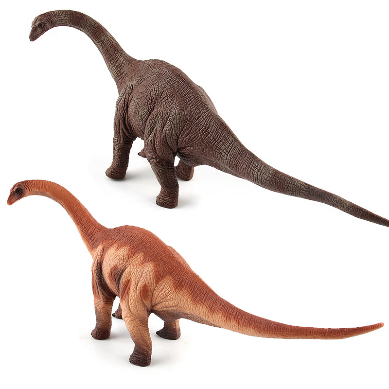 Big Jurassic <font><b>Dinosaur</b></font> Simulation Brontosaurus <font><b>Toy</b></font> Soft PVC Plastic Hand Painted Animal Model Collection <font><b>Toys</b></font> for Children Gift image