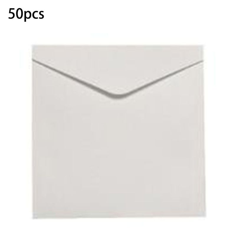 50pcs Invitation Envelopes For Weddings, Baby Showers, Parties,Graduations PXPA