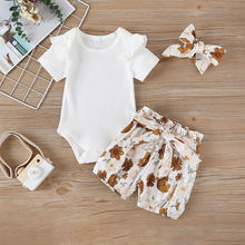 Malapina 2020 летний наряд для новорожденных девочек комплект