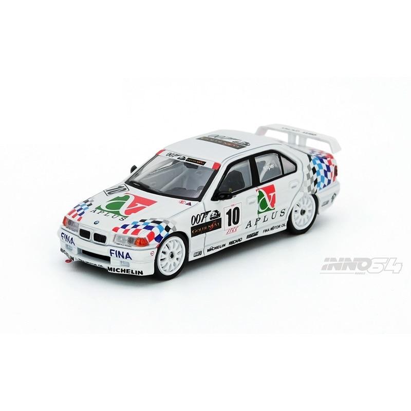 INNO 64 Scale 1/64 E36 318i #10 Japan Touring Car Championship 1994 Team Schnitzer - Steve Soper Die-cast Model Car