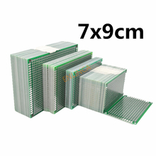 5 teile los 7x9cm Double Side Prototyp PCB Board 70*90mm Universal Leiterplatte Für arduino Experimentelle PCB Kupfer Platte cheap TTVXO Tinned 1 6mm 70x90mm Blue PCB Printed Circuit Board Electronic Soldering Board