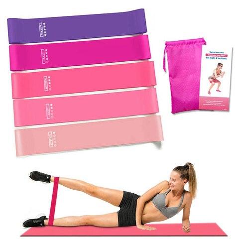 Treinamento de Fitness Faixas de Fitness Equipamentos de Treino Yoga Goma Exercício Ginásio Resistência Bandas Pilates Esporte Borracha Crossfit