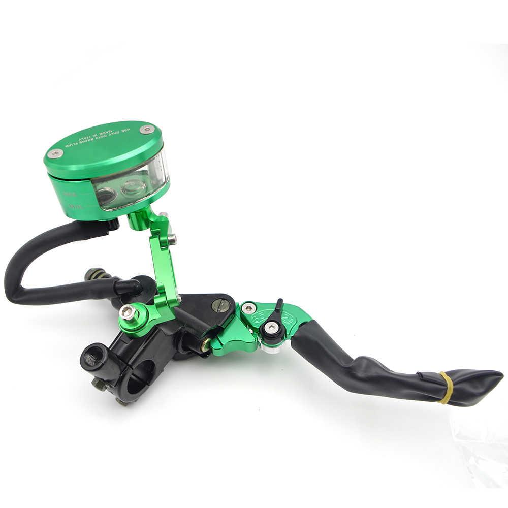 CNC moto frein embrayage leviers maître-cylindre réservoir Set pour honda pcx suzuki gsxf yamaha r3 aprilia rsv4 bmw f800r