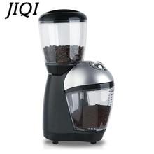Электрическая кофемолка 110 В/220 В, мельница для порошка, машина для измельчения кофейных зерен в итальянском кафе, лезвие из нержавеющей стали для измельчения мелких зерен, ЕС, США