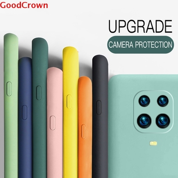 Liquid Silicone Case Cover For Xiaomi Poco X3 NFC Redmi Note 9 Pro 8T 8 7 Pro image
