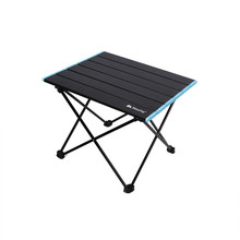 Table pliante Portable en alliage d'aluminium, mobilier d'extérieur pour Camping, lit d'ordinateur, pique-nique, bureau Ultra léger