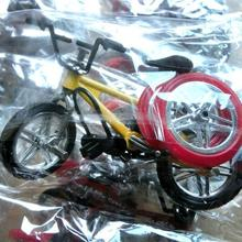 Mini bicycle toy alloy bmx finger model bicycle fans fun children decoration toy novelty gift gift kids bicycle P1Z1