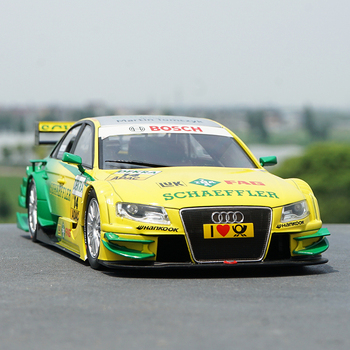 Original Factory Authentic 1:18 Norev A4 Dtm Audi A4 Xpand Rally Diecast Car Model with Small Gift image