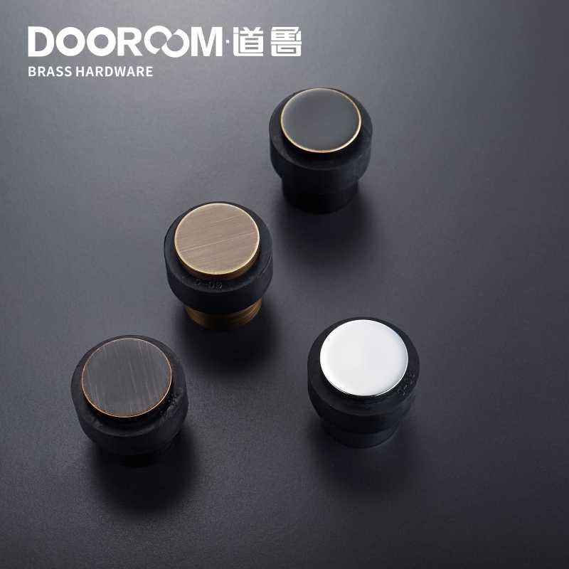 Dooroom латунь Экологичная Резина дверные остановки дверной ограничитель для