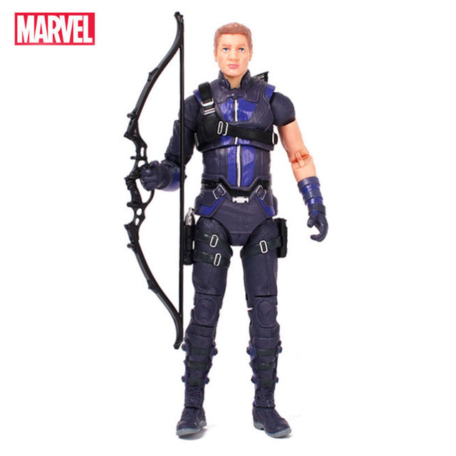 Avengers Marvel Legends Hero Hawkeye Action Figure Doll Toys Model Joints Can Move Collection Gift Toy For Children Kids Boy
