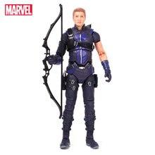 المنتقمون الأعجوبة أساطير بطل Hawkeye عمل الشكل ألعاب الدمى نموذج المفاصل يمكن أن تتحرك جمع هدية لعبة للأطفال صبي