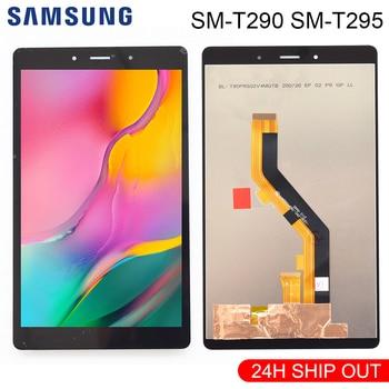 Оригинальный 8 дюймов для Samsung Tab A 8,0 2019 SM-T290 SM-T295 T290 T295 сенсорный экран ЖК-дисплей дигитайзер стеклянная панель в сборе