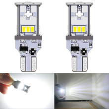 2 шт автомобильные светодиодсветодиодный лампы 921 лм t15 w16w