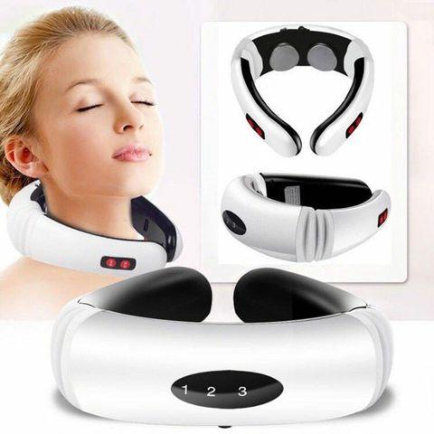 pescoco e ombro massageador eletrico inteligente cuidados de saude pescoco relaxamento de baixa frequencia terapia