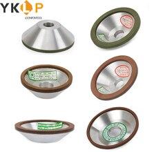 1 шт. алмазный шлифовальный круг, шлифовальный круг для вольфрамовой стали, Фрезерный резак, инструмент, точилка, шлифовальный станок, аксес...