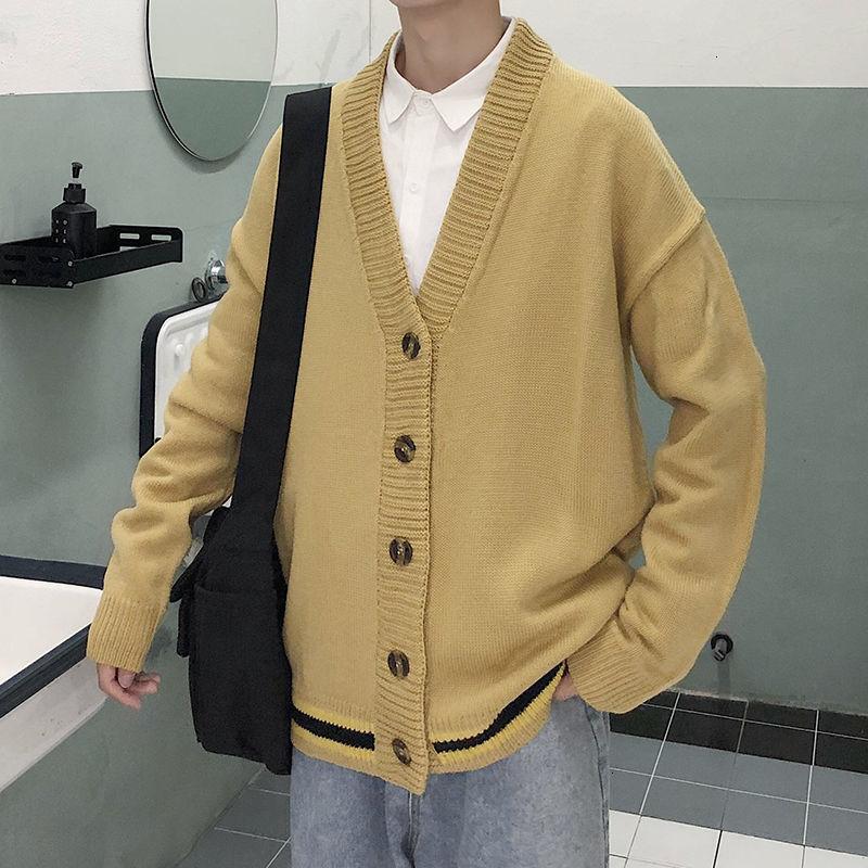 Best Sale #51afe Sweater Men 2020 Autumn Korean Version Of