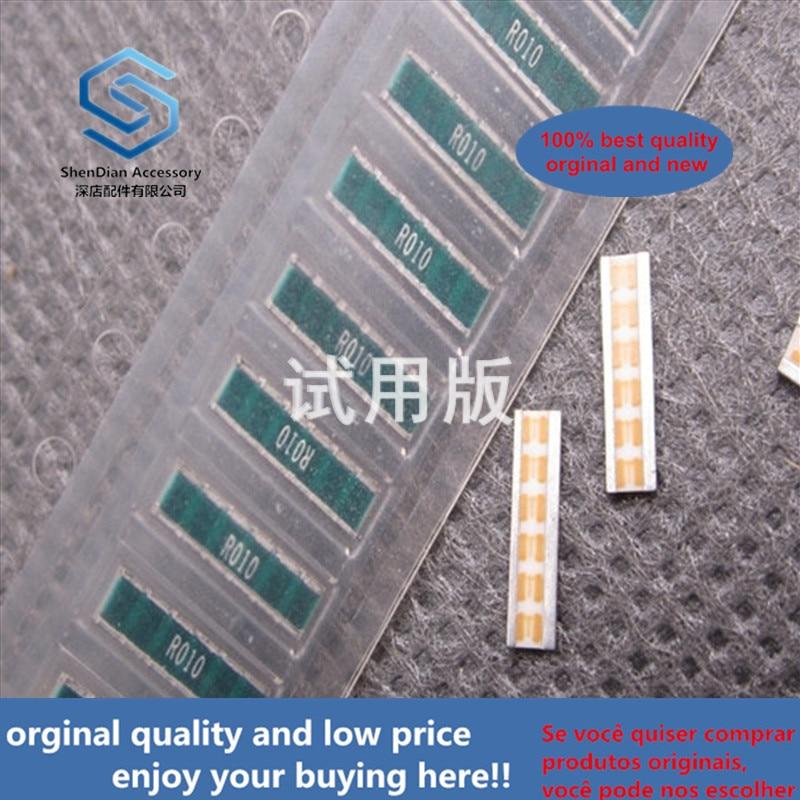 20ppcs 100% Orginal New RL7520WT-R010-F Current Detection Film Resistance 0.01R 2W 1% 0830 R010 10mR
