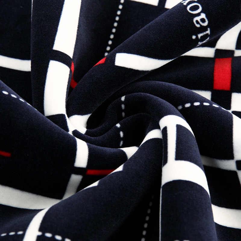 GAAJ 2019 ออกแบบใหม่เสื้อลายสก๊อตผู้ชายเสื้อกันหนาวหนาฤดูหนาว WARM JERSEY ถักเสื้อกันหนาวบุรุษสวมใส่ SLIM FIT เสื้อถัก