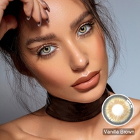 1pair multicolored lenses contact lenses yearly colored contacts green color contact lenses for eyes contacts 2021 new arrivals