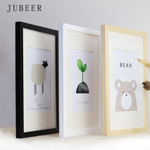 Wooden-Frame Wall Home-Decor White-Color Black Nordic A3 A4 for Simple