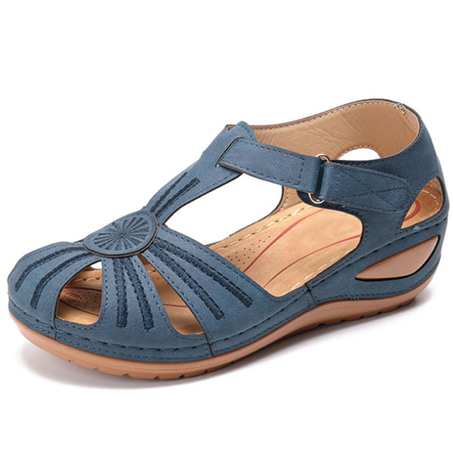 Women Sandals 2020 New Wedges Shoes For Women Summer Sandals Gladiator Casual Platform Sandals With Wedge Heels Sandalias Mujer