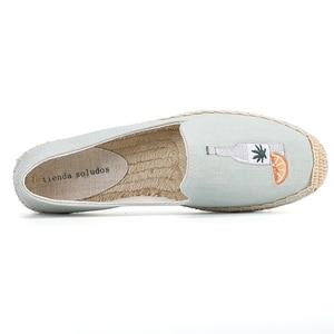Image 4 - 2020 Top Fashion Special Offer Flat Platform Denim Sapatos Zapatillas Mujer Casual Tienda Sloludos Espadrilles For Shoes Flats