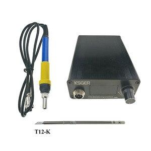KSGER V2.1S T12 numérique régulateur de température Station de soudage électrique fer à souder conseils T12-K + 907 poignée Durable
