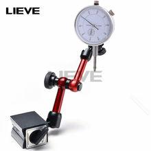 10mm indicador de discagem suportes magnéticos indicador dial universal suporte base magnética tabela escala indicadores precisão medida