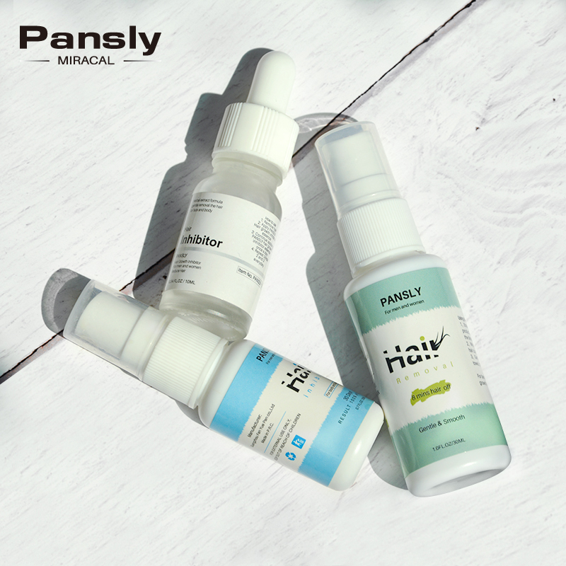 Pansly Dropshipping Hair Growth Inhibitor Beard Bikini Intimate Face Legs Body Armpit Facial Removal Painless Stop Hair Spray