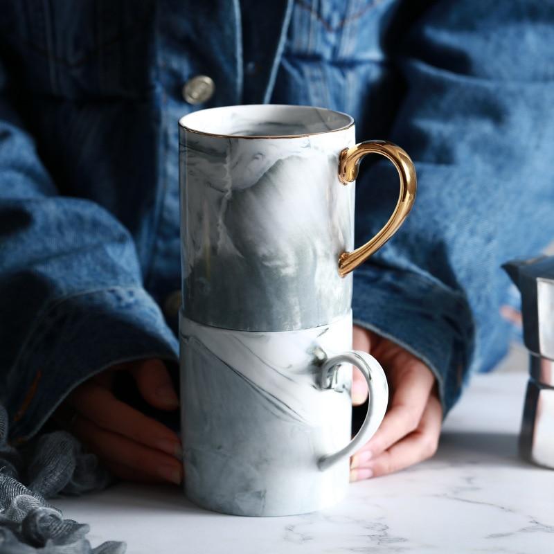 Lekoch European Marble Grain Mug 2