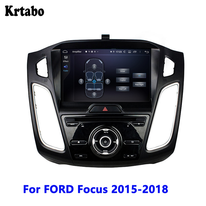 For <font><b>FORD</b></font> <font><b>Focus</b></font> 2015 2016 <font><b>2017</b></font> 2018 Car radio Android multimedia player Touch Screen <font><b>Navigation</b></font> Reversing Image support DVD image