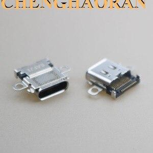 Image 4 - ChengHaoRan 2pcs 5pcs 10pcs Originele Nieuwe USB Type C Opladen Socket Port Power Connector voor Nintend NS Switch Console