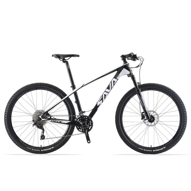 SAVA Mountain Bike 29 mtb bike 29 Mountain Bike In Fibra di Carbonio MTB 29 Bicicletta con Shimano DEORE M6000 30 Velocità bicicleta