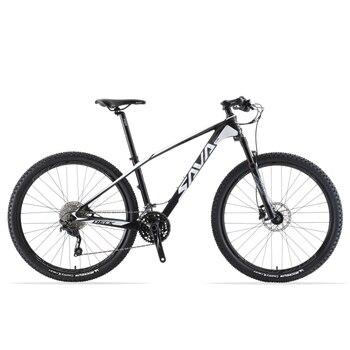 SAVA VTT 29 vtt 29 VTT fibre de carbone vtt 29 vélo avec Shimano DEORE M6000 30 vitesses Bicicleta