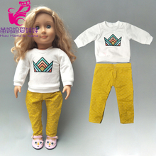 doll dress fit for 43cm reborn baby doll dress and 18 inch american doll clothes wear