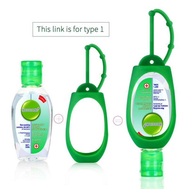 50ml Travel Portable Hand Sanitizer Gel Anti- Moisturizing Liquid Disposable No Clean Waterless Antibacterial Hand Gel
