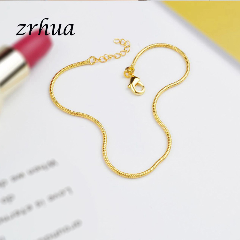 New Arrival Simple Beautiful Small Snake Chain 925 Sterling Silver Anklets Top Quality Christmas Gift For Girls Engagment Bijoux 2