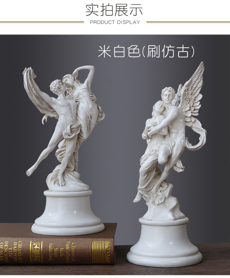 Resin Angel Crafts Lover Statue Home Decorations Ancient Greek Mythology Love Character Sculpture Modern Wedding Birthday Gift Statues Sculptures Aliexpress