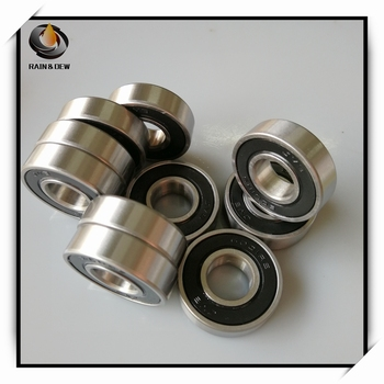 10Pcs 6001-2RS Bearing ABEC-7 12x28x8 mm Sealed Deep Groove 6001 2RS Ball Bearings 6001RS 180101 RS image