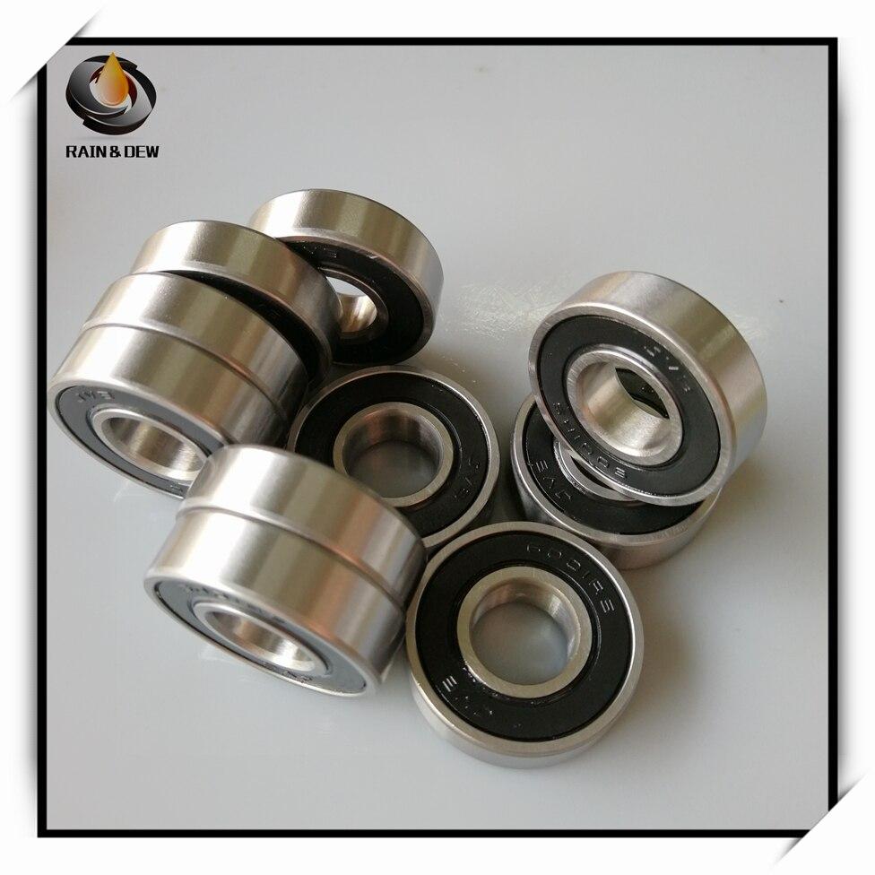 1Pcs 6001 Hybrid Ceramic Bearing 12x28x8 Mm ABEC-7 Bicycle Bottom Brackets & Spares 6001RS Si3N4 Ball Bearings