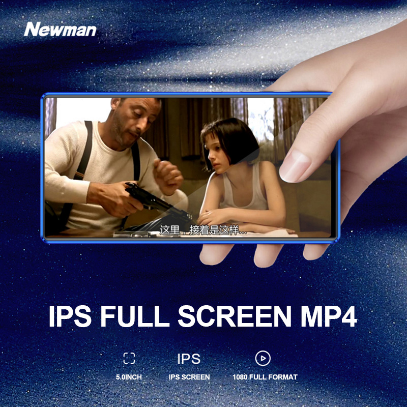 Image 2 - NEW 8GB 32G Walkman Portable MP4 Player Novel E book MP4 Music  Player FM Video Touchscreen Support Bluetooth 5 Inch Mp4 A1MP4 Player