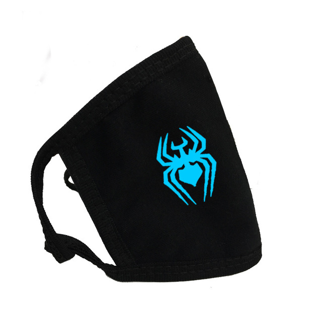 Luminous Masks On Mouth Black Air Pollution Mouth Mask Anime Anti Dust Masks Windproof Mouth-muffle Bacteria Proof Flu Face Mask 4