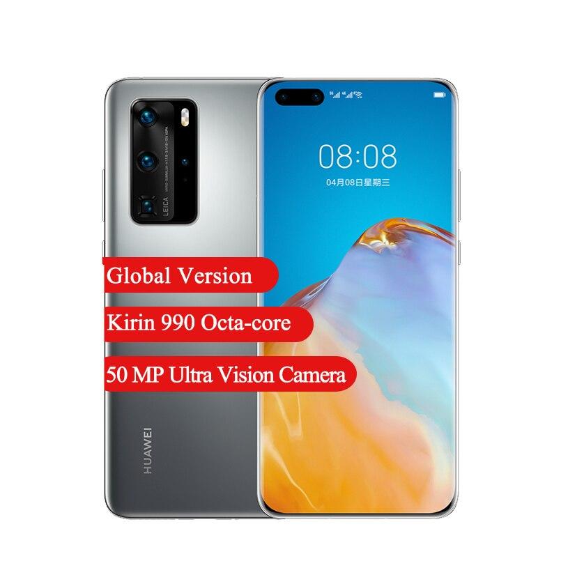 Global Version Huawei P40 Pro 5G Smartphone 6.58 '' Kirin 990 Octa core 32MP Front Camera 8GB RAM 256GB ROM 4200mAh Cellphone|Cellphones| - AliExpress