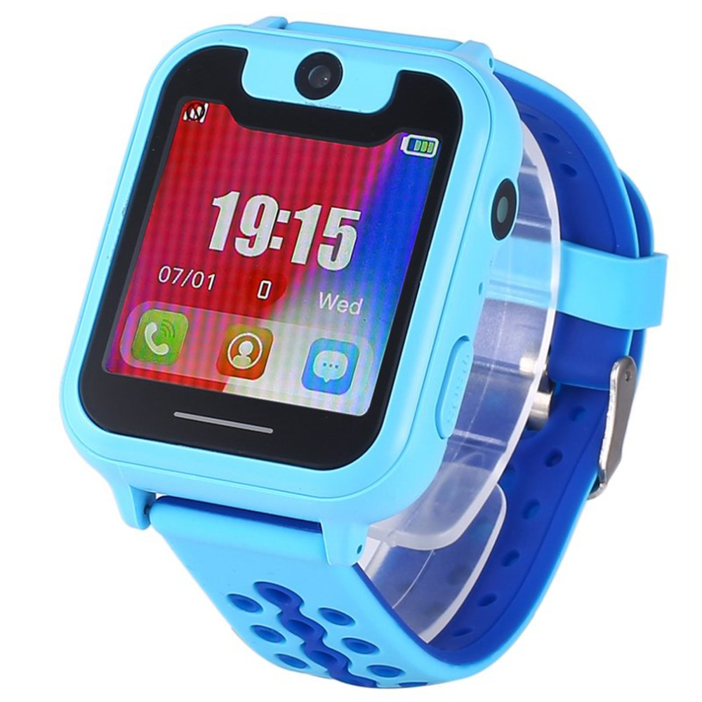 Anti Lost S6 Children Smart Watch Kids Safe LBS SOS Call Remote CameraLocator Tracker For Child Monitor Baby Security Wristwatch