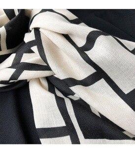 Image 5 - 2019 di Modo delle signore Aztec Nappa Viscosa Sciarpa Dello Scialle Delle Donne di Alta Qualità Wrap Pashmina Ha Rubato Bufanda Musulmano Hijab Snood 180*90 centimetri